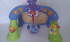 Adorable My 1st Fisher Price Activity 'Kick Football' Baby Light up & Sound Play Gym